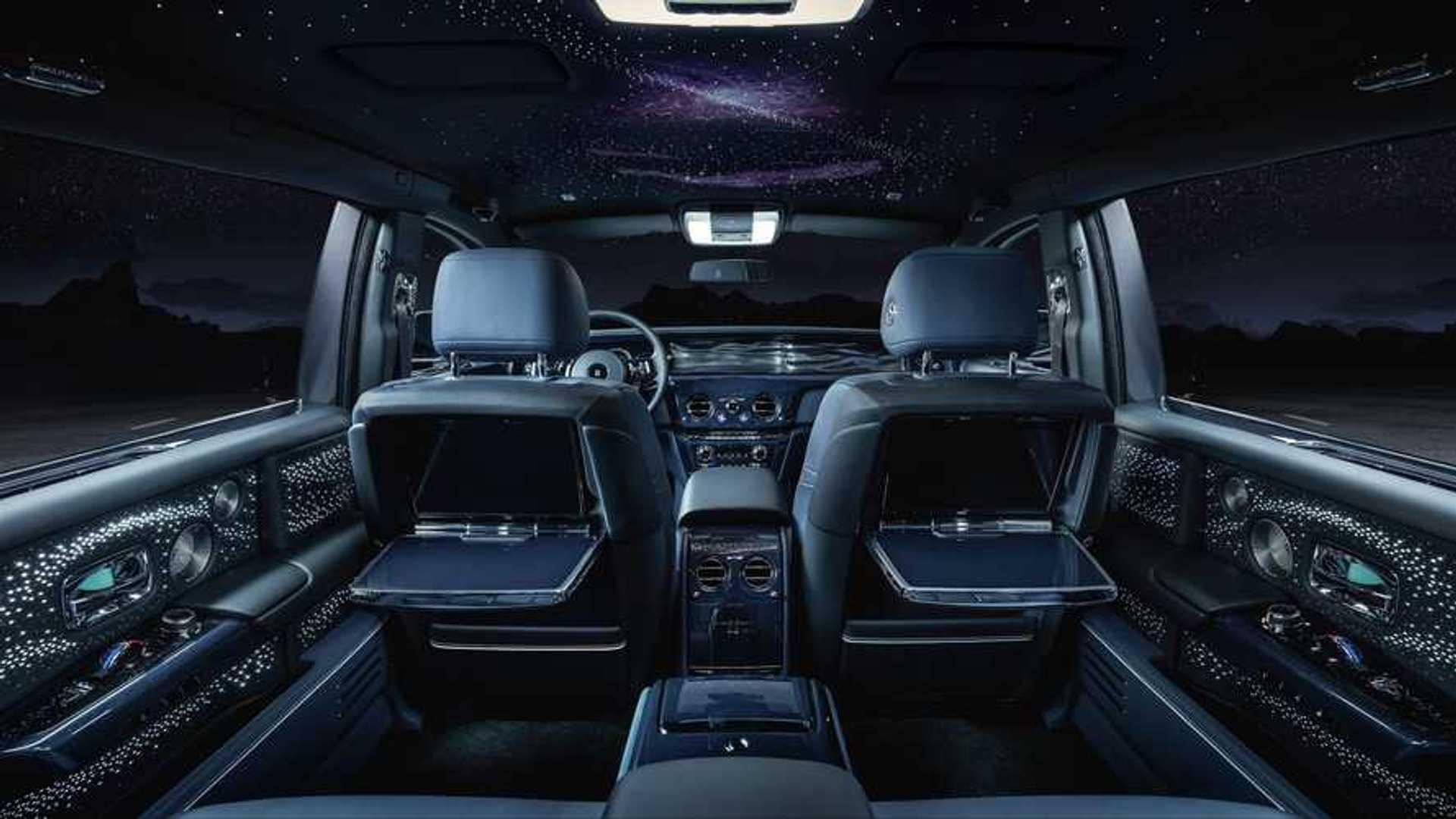Rolls-Royce Phantom Tempus обращается к звездам Pulsar в качестве неподвластного времени дизайна