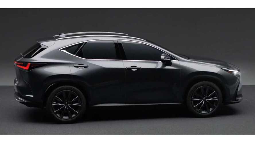 Кадры из официального видео с новым Lexus NX