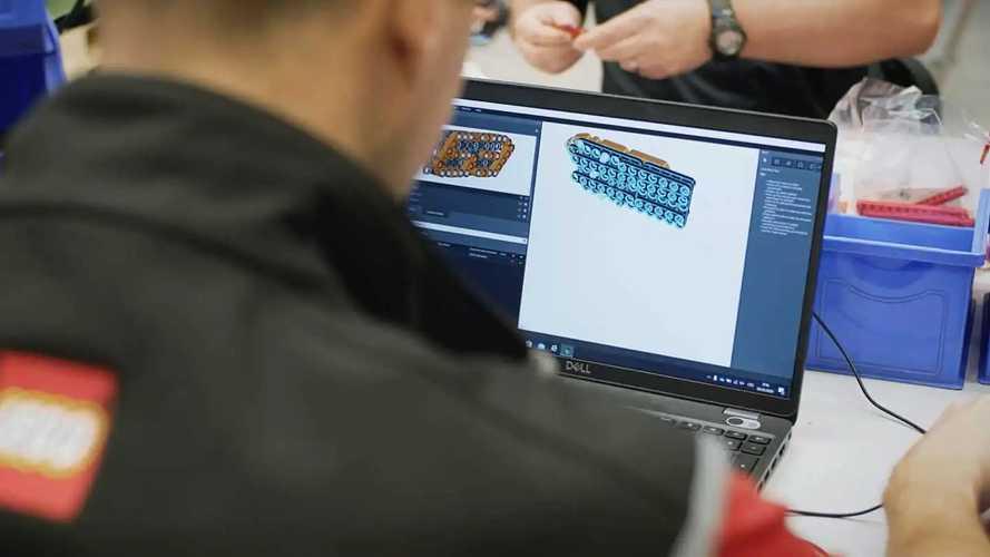 Lamborghini Sian par Lego Technic (échelle 1)