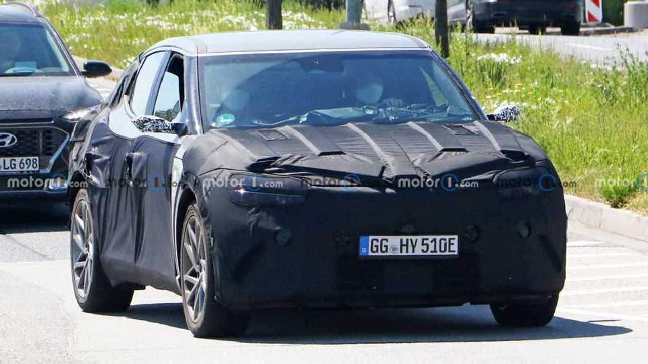 Genesis GV60 EV Crossover Spy Shots