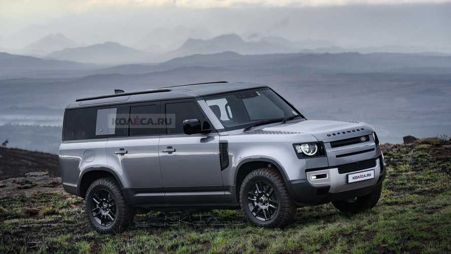 Upcoming Land Rover Defender 130 Rendered As Family Friendly Off-Roader