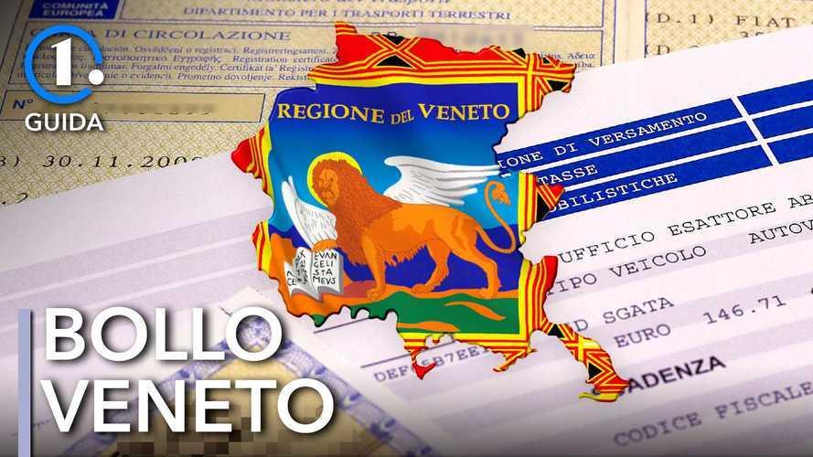 Come si paga il bollo auto in Veneto