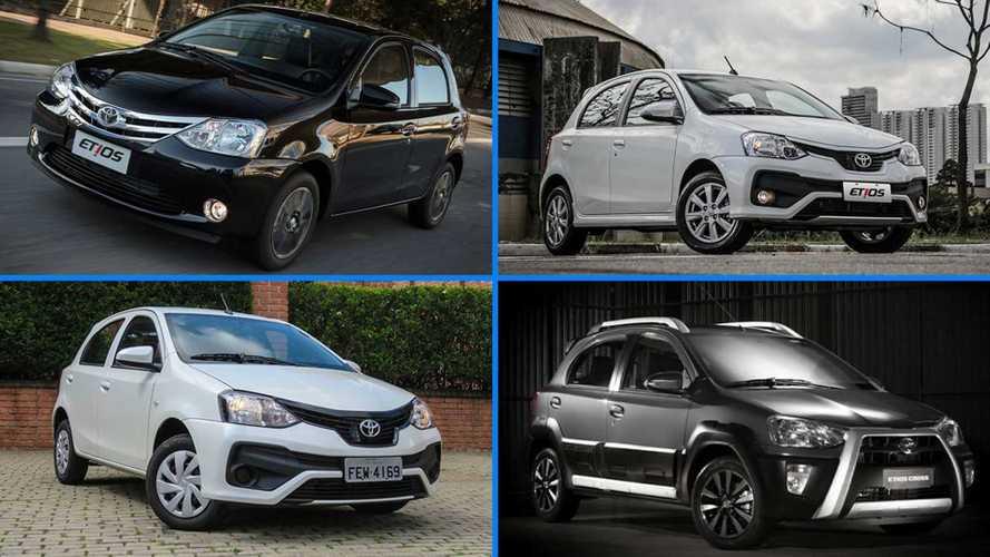"""Toyota Etios: a trajetória do """"popular"""" da marca japonesa que se despede em 2021"""