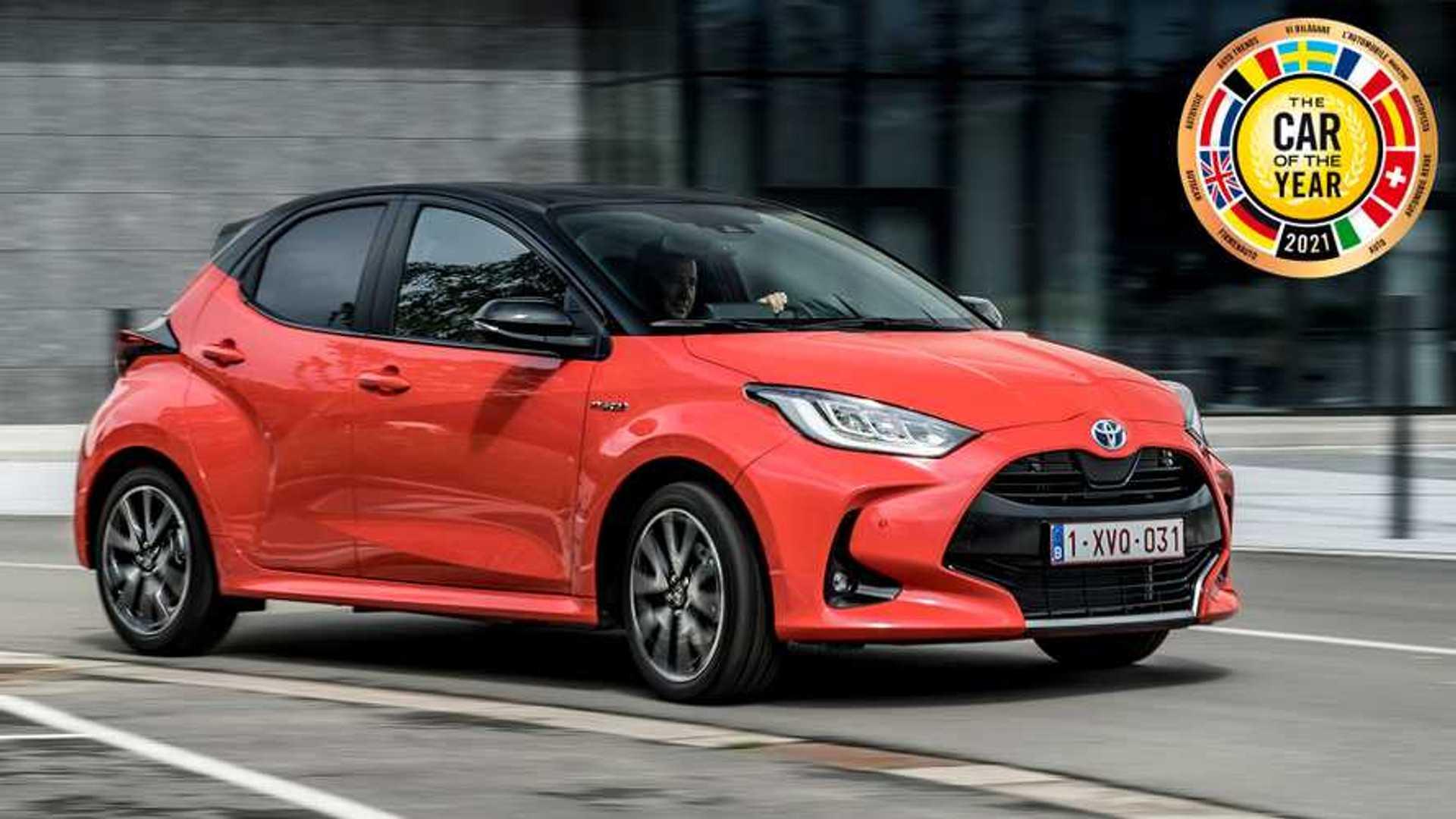 Toyota Yaris è Auto dell'Anno 2021