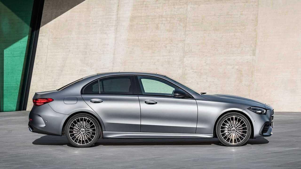Bekommt die Mercedes C-Klasse 2024 oder 2025 ein elektrisches Äquivalent auf Basis der Plattform MMA?