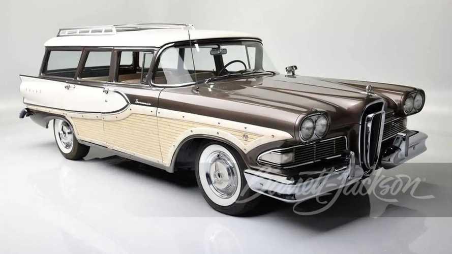 1958 Ford Edsel Bermuda Wagon