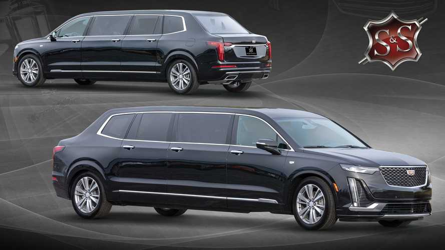 Sayers & Scovill Cadillac XT6 Limo With Trunk Looks All Sorts Of Weird