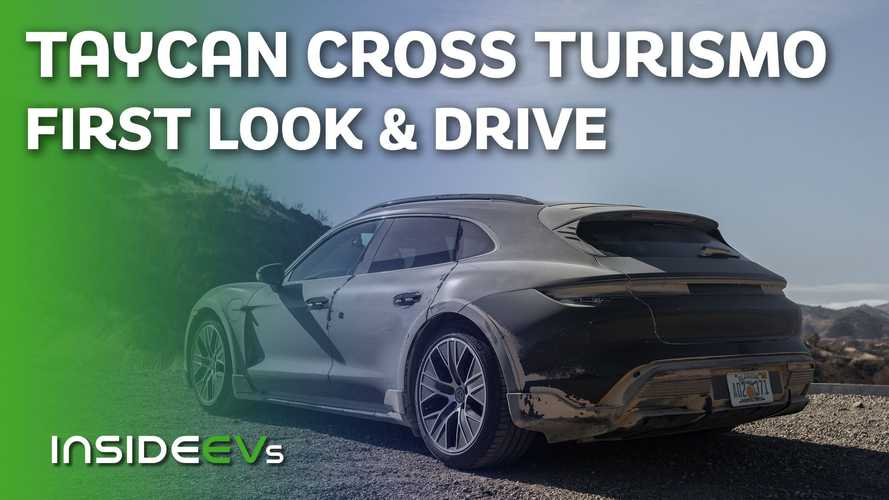 Porsche Taycan Cross Turismo First Drive: Taking Taycan To New Heights