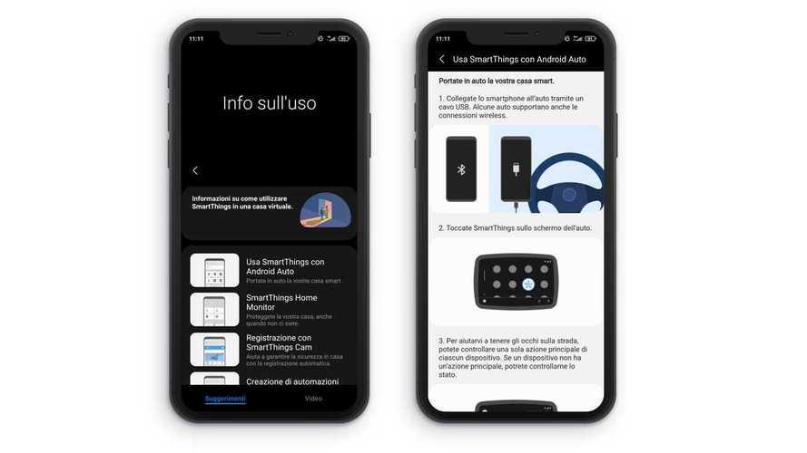 Come funziona Samsung SmartThings su Android Auto