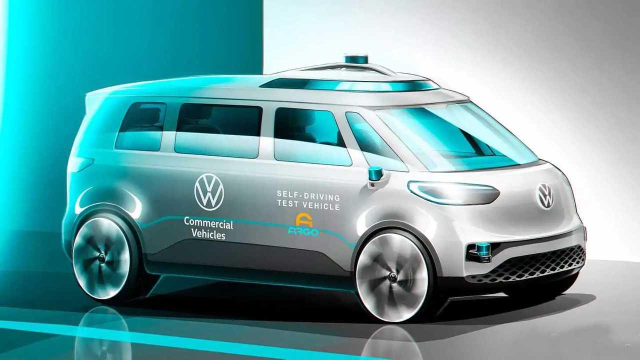 Volkswagen ID.Buzz a guida autonoma