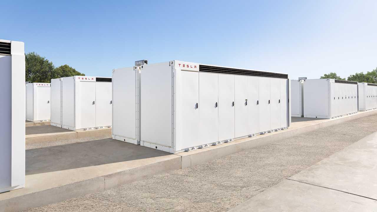 Tesla Megapack energy storage system