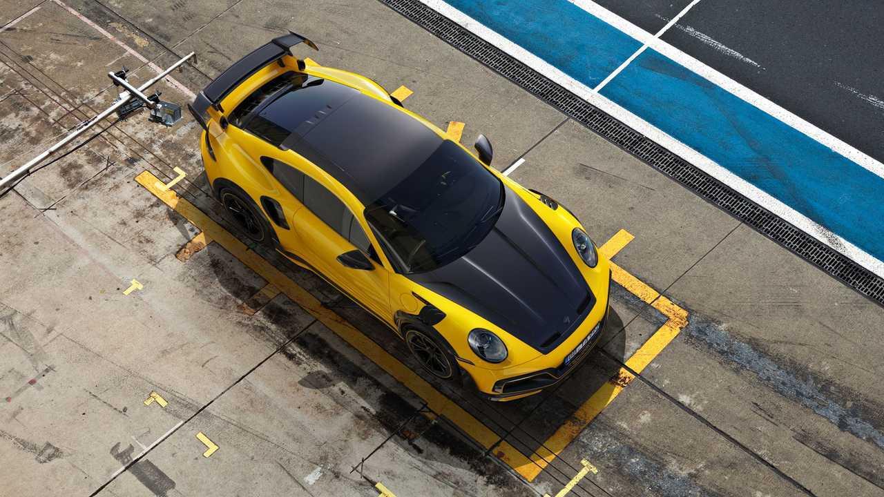 Porsche 911 Turbo S de TechArt
