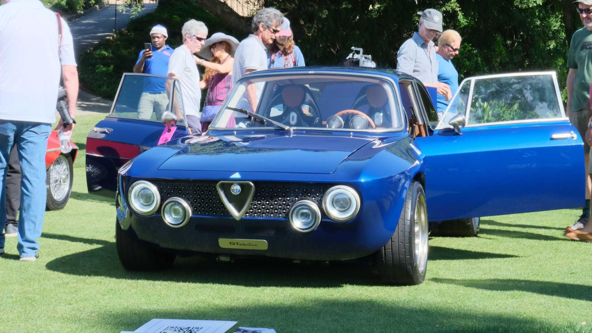 Alfa Romeo GT Electric At Amelia Island Concours d'Elegance