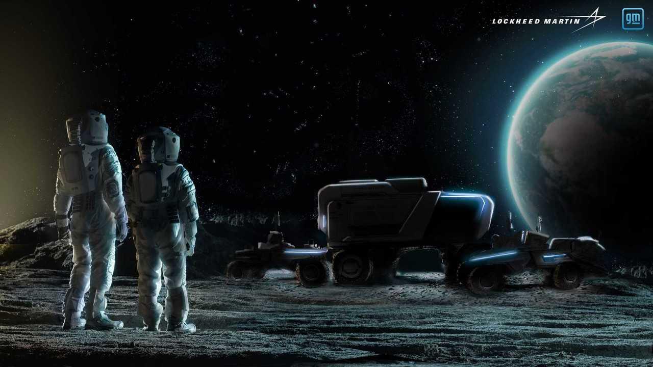Лунный транспорт GM