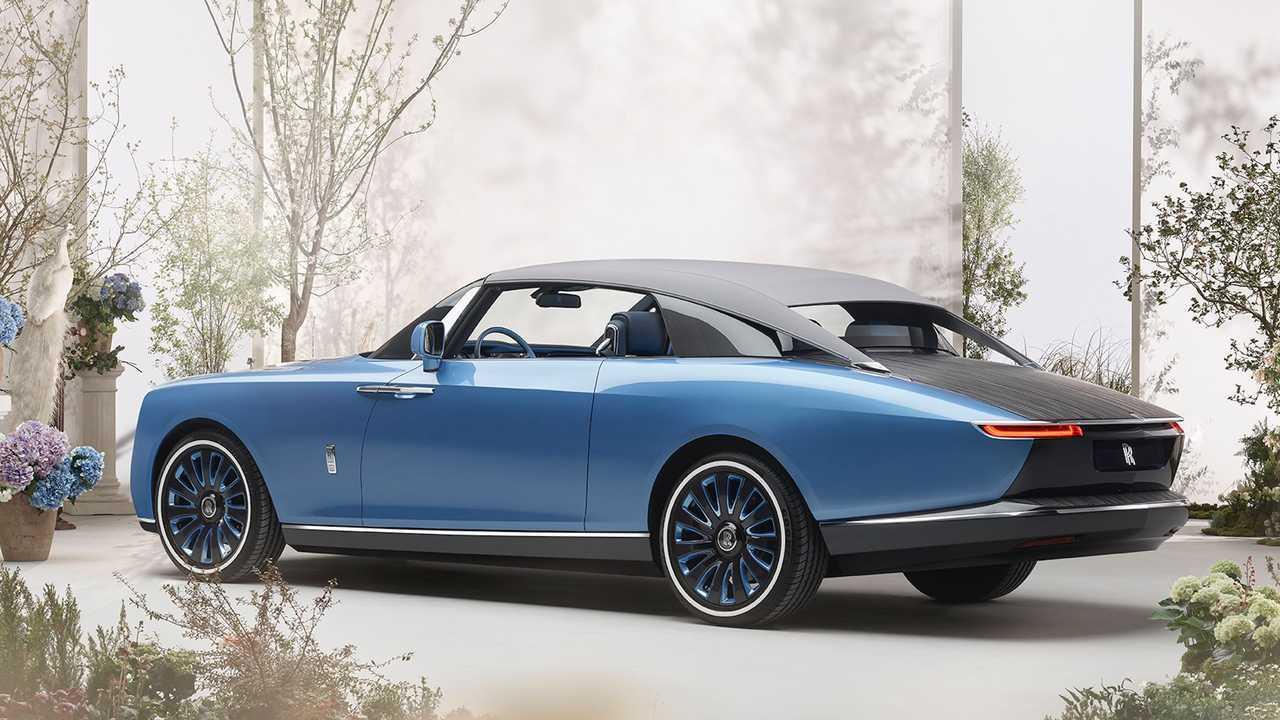 Der Rolls-Royce Boat Tail ist eine Yacht auf Rädern