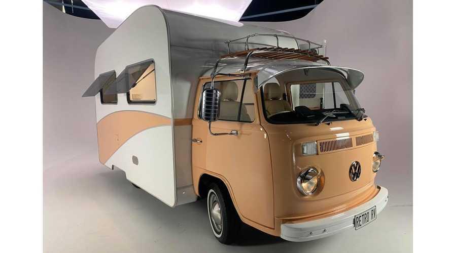 ¿Alquilarías esta autocaravana de aspecto retro?