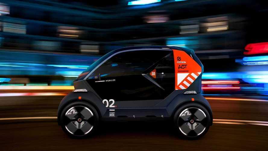 Renault представила семейство электромобилей Mobilize