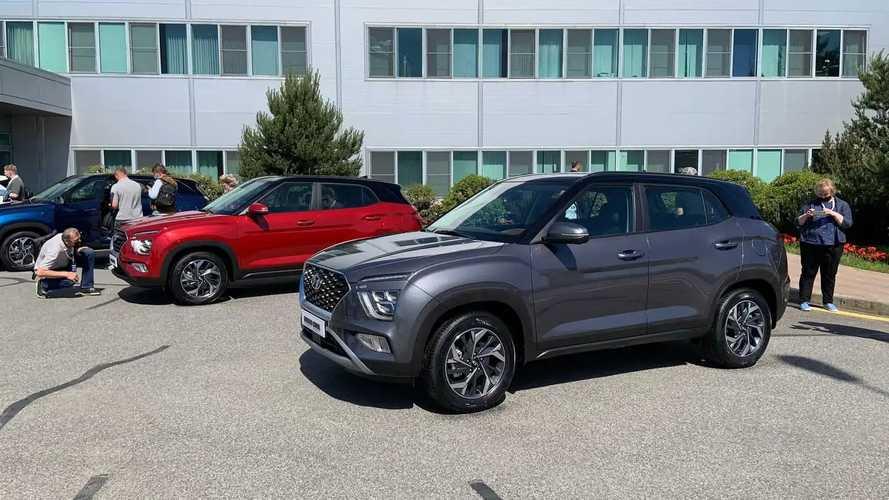 В России показали новую Hyundai Creta