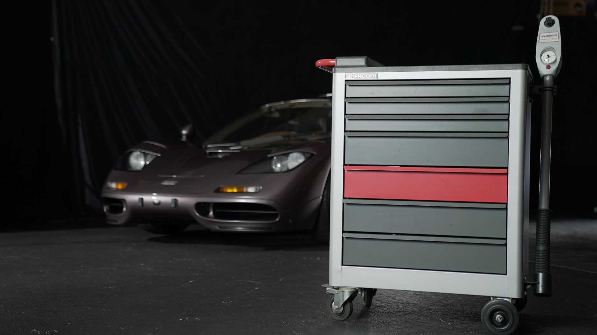 1995 McLaren F1 Gooding And Company Auction 2020 With Tool Case