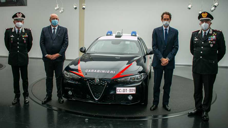 Alfa Romeo Giulia untuk Pasukan Carabinieri