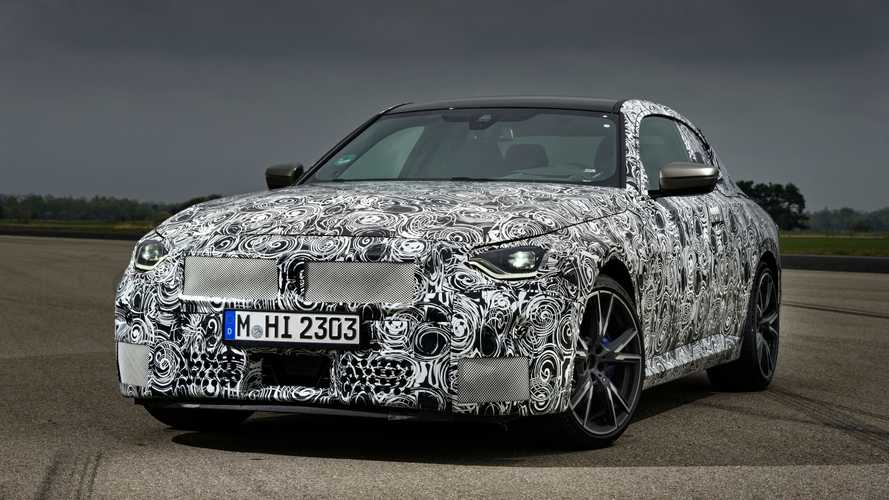 2022 BMW 2 Series Coupe Teased In Massive Photo Gallery Of M240i