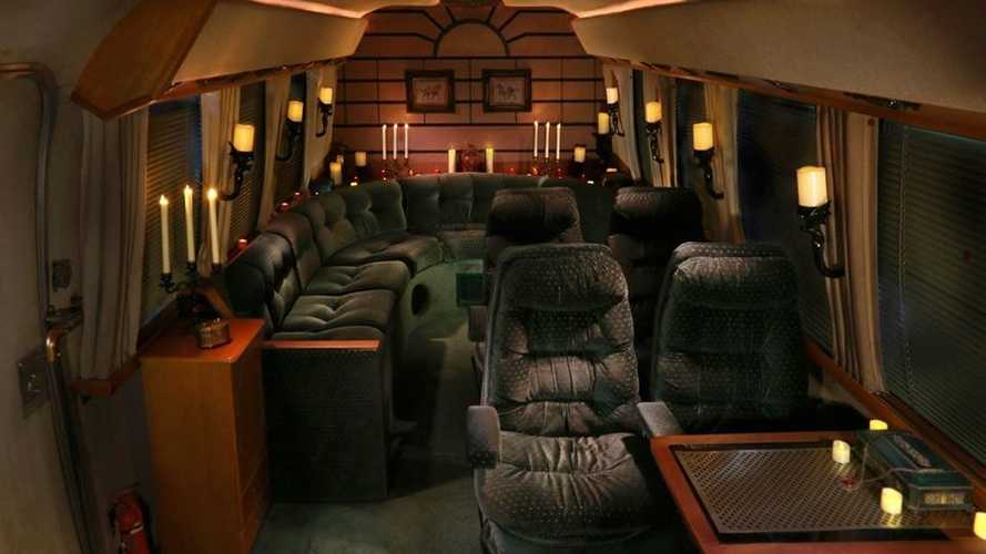 Airstream Funeral Coach Escape Room