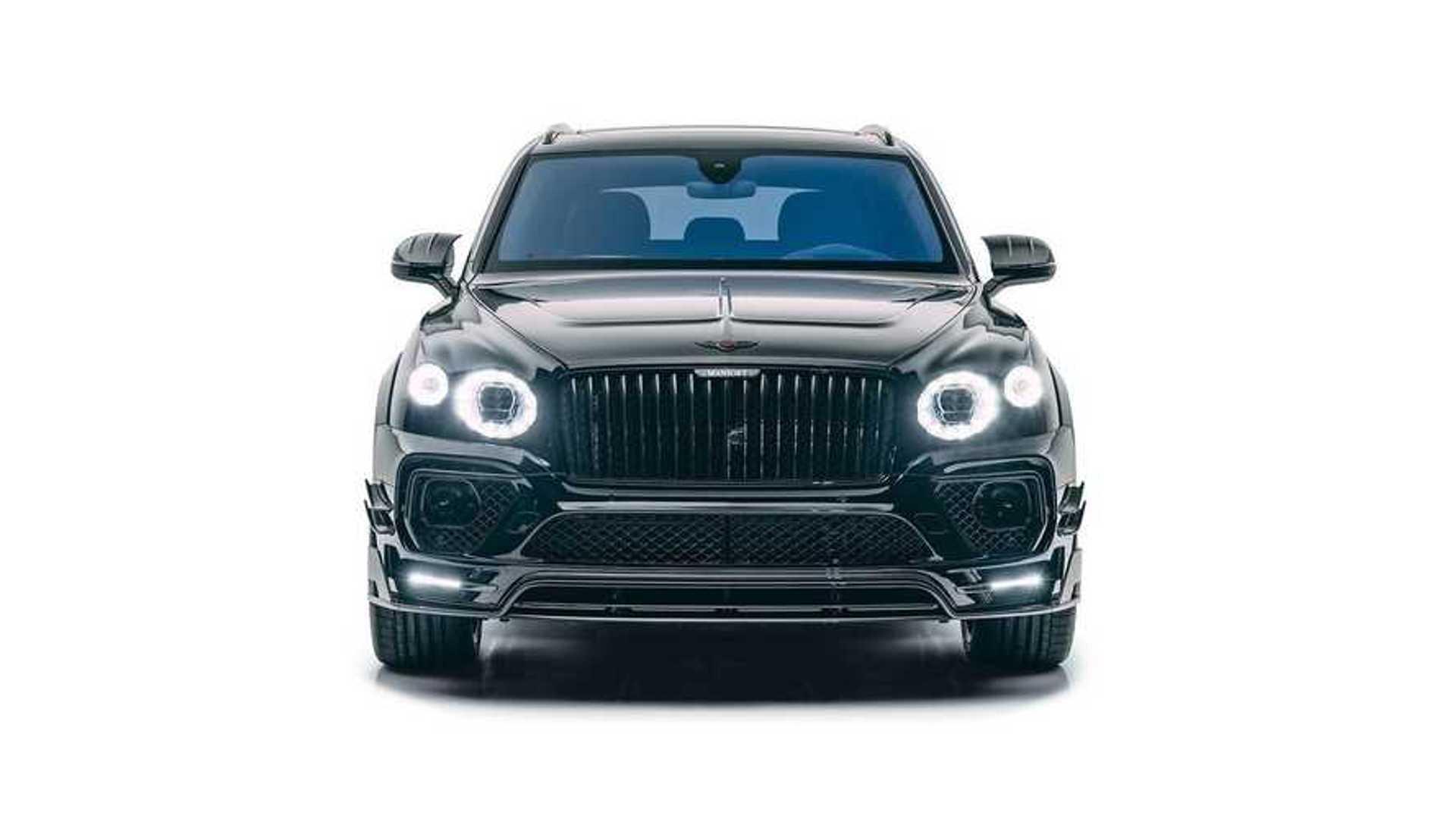 Mansory Bentley Bentayga Facelift