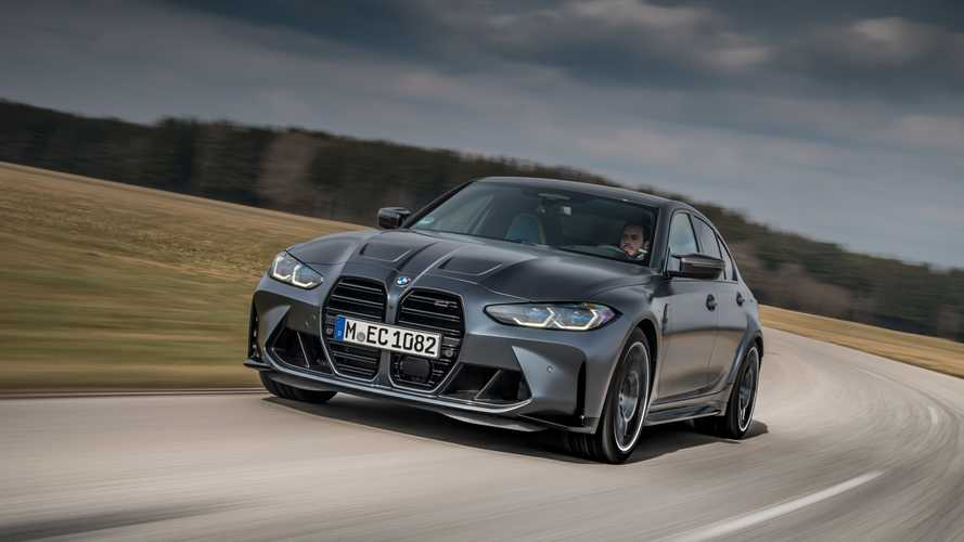 BMW M3 CS coming with exclusive M headlights, but No manual gearbox