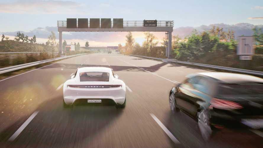 L'auto del futuro di Porsche nasce nei videogiochi