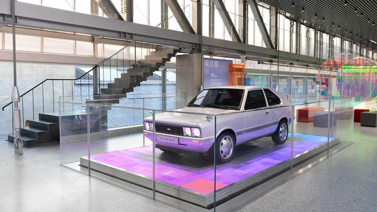 Hyundai Pony (1975) come un restomod elettrico unico