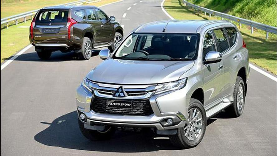 Nuova Mitsubishi Pajero Sport, prime foto e informazioni