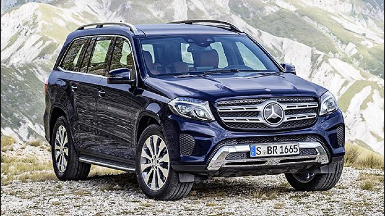 [Copertina] - Nuova Mercedes GLS, ammiraglia 7 posti