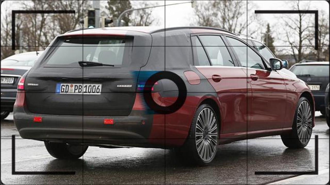 [Copertina] - Nuova Mercedes Classe E Station Wagon, le foto spia