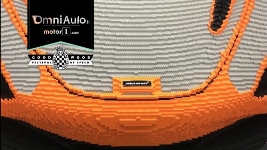 Goodwood Festival of Speed 2017, da McLaren una 720S con i Lego