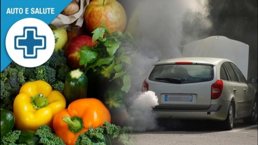 Inquinamento e auto, ecco i cibi anti smog