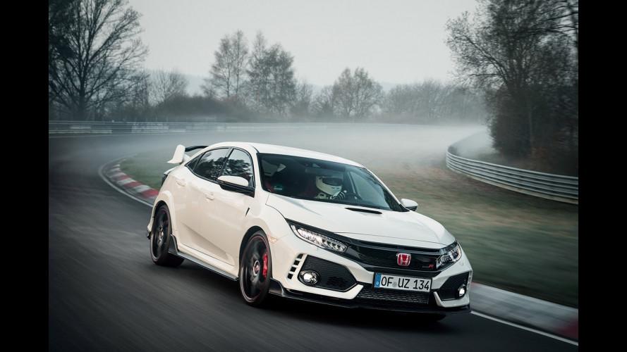 Nuova Honda Civic Type R, il record al Nurburgring torna suo [VIDEO]