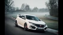 Nuova Honda Civic Type R, il record al Nurburgring
