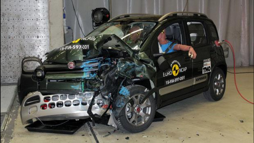Crash Test Euro NCAP, 3 stelle per la Fiat Panda Cross