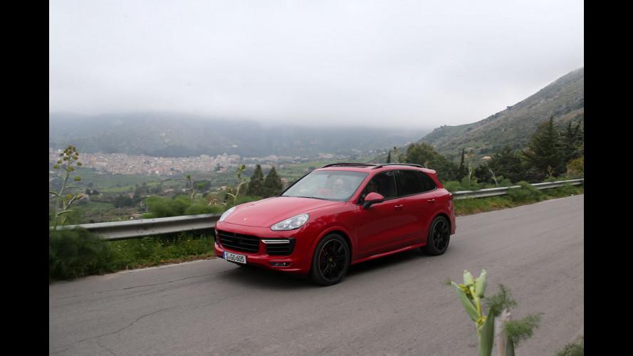 Porsche Cayenne GTS, ritorno alla Targa Florio