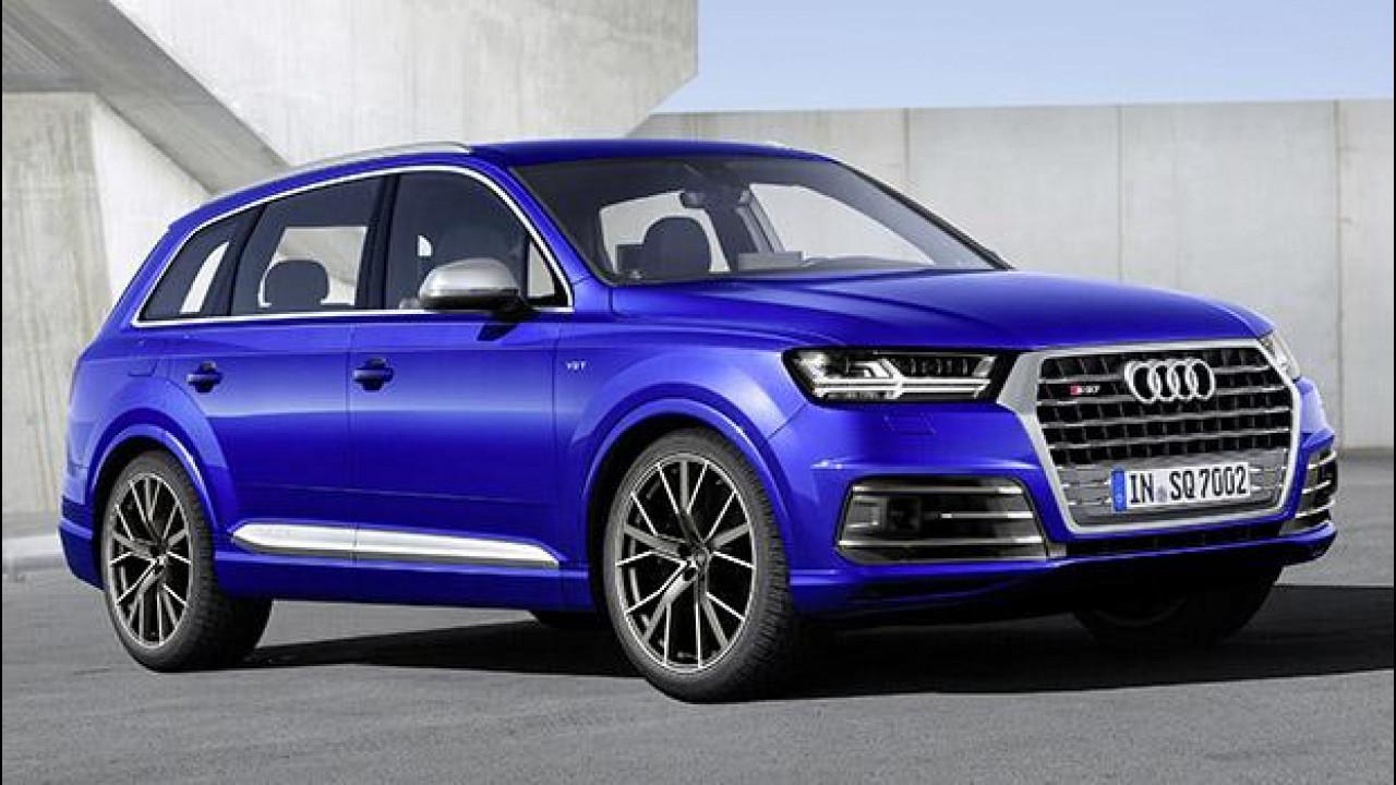 [Copertina] - Audi SQ7 TDI, diesel e sportiva col turbo elettrico