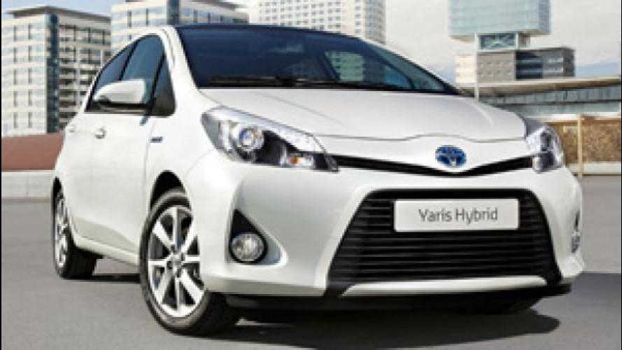 Toyota raddoppia i turni per produrre Yaris e Yaris Hybrid