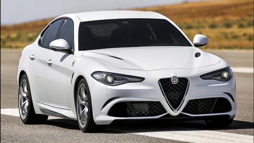 Alfa Romeo Giulia, tutti i numeri della Quadrifoglio
