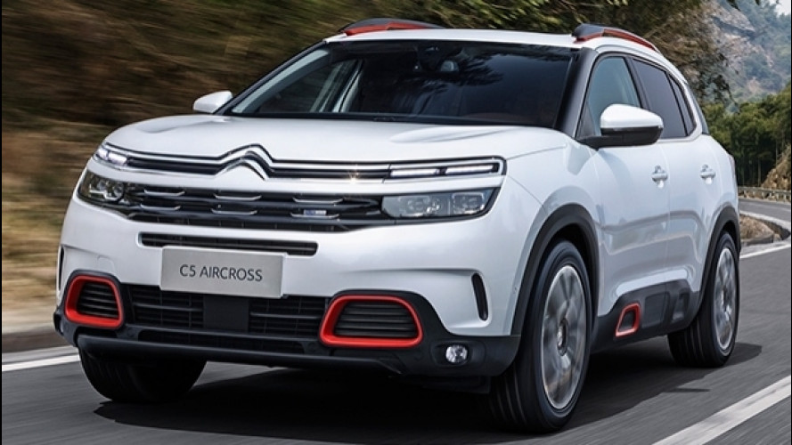 Citroen C5 Aircross, il gigante buono [VIDEO]