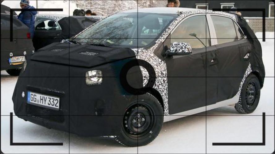 Nuova Kia Picanto, si prepara per il 2017