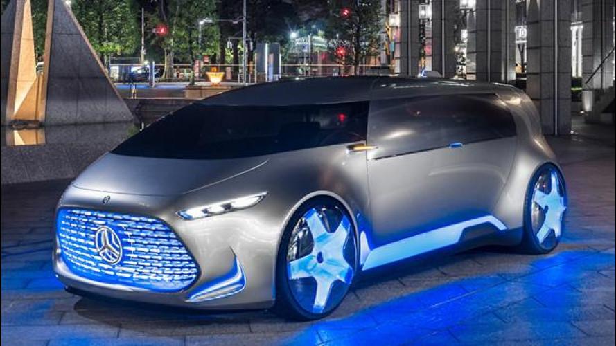 """Mercedes Vision Tokyo, così si muoverà la """"Generazione Z"""""""