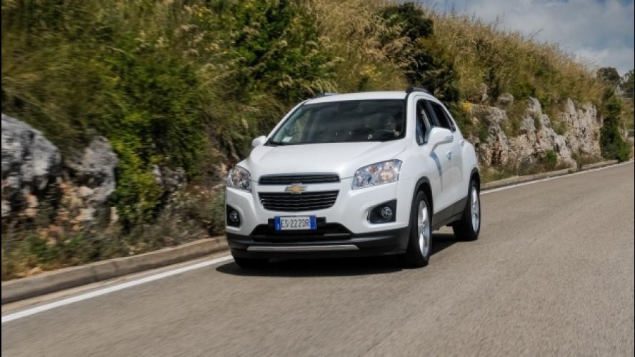 Sulla Costa Tirrenica tra Sperlonga e Gaeta - Chevrolet Trax 1.7 TD
