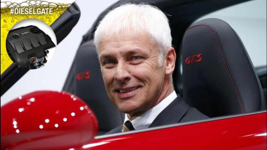 """Matthias Mueller è il nuovo CEO Volkswagen: """"Saremo più forti di prima"""""""