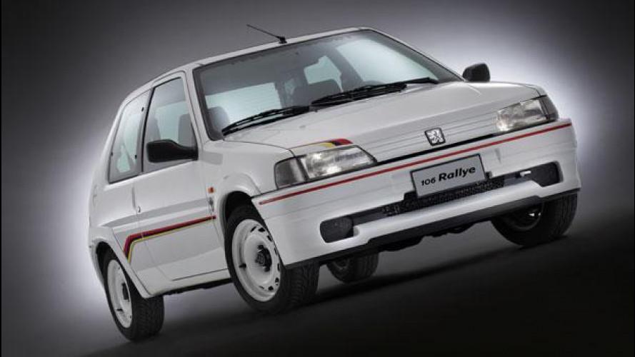 Peugeot 106 Rallye 1.3, dagli anni '90 con furore