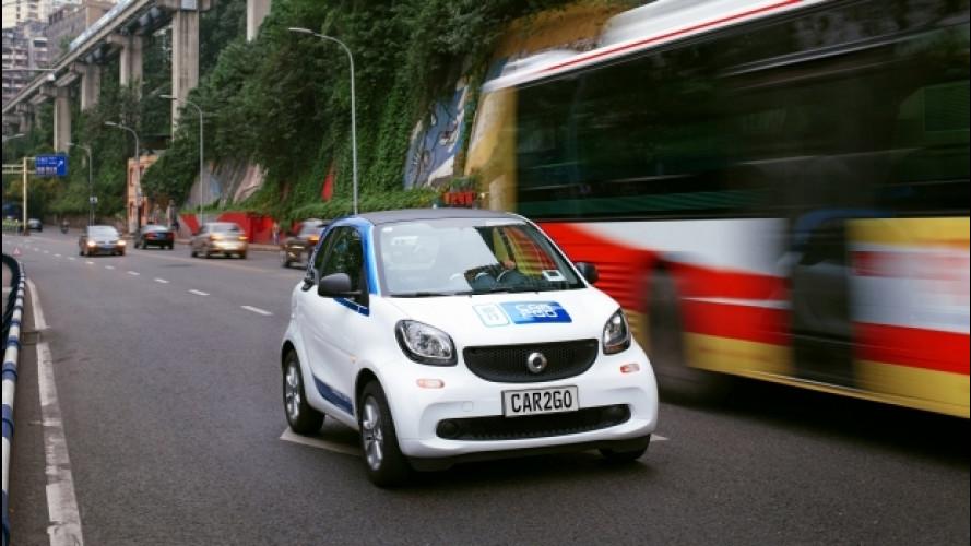 Car2go arriva in Cina