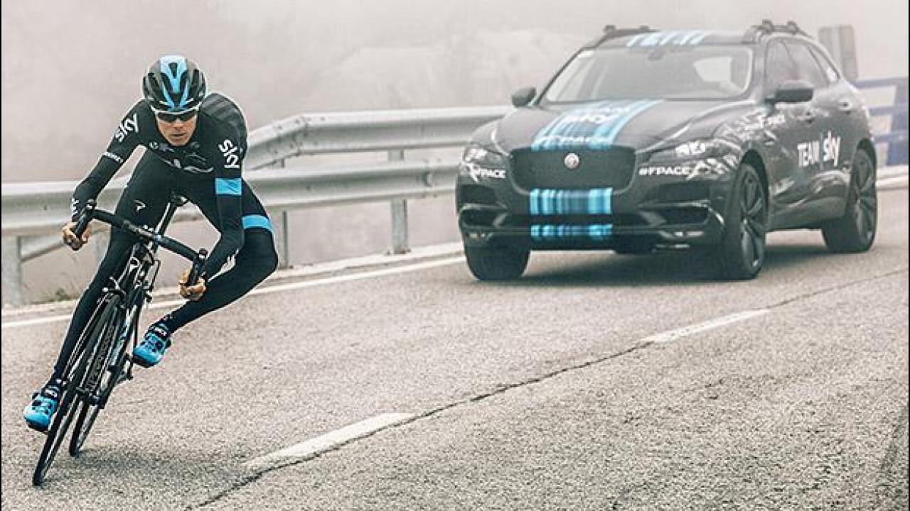 [Copertina] - Jaguar F-PACE, in anteprima al Tour de France